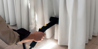 On site And Off site curtain cleaning