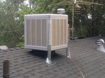 Evaporative Cooling System Cleaning
